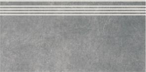 SG614600R/GR Ступень Королевская дорога серый темный обрезной 30х60