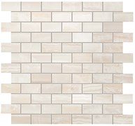 S.O. Pure White Brick Mosaic / С.О. Пьюр Вайт Брик Мозаика 30,5x30,5 600110000202