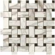 S.M. Calacatta Gold Twist Mosaic / S.M. Калакатта Голд Мозаика Твист 30,5x30,5 600110000069