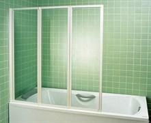 шторки для ванн VS3 130 белая + Раин