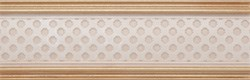 Cenefa Louvre Mix Gold- комплект из 2 шт 8x25