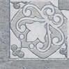 HGD/B39/TU0031L Вставка Монтаньоне серый лаппатированный 9,7х9,7х9 - фото 18221