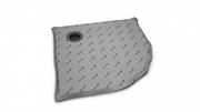 Полукруглые душевые плиты с компактным трапом