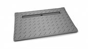 Прямоугольные душевые плиты для укладки толщиной от  5 до 7 мм c линейным трапом вдоль длинной стороны