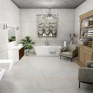 "Проект №686. Ванная комната для загородного дома""Карелли"""