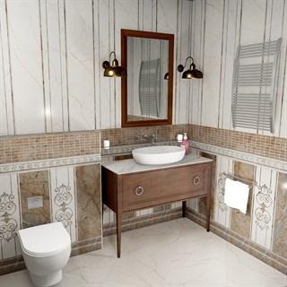 """Проект №735. Ванная комната в стиле неоклассика """"Театро"""""""