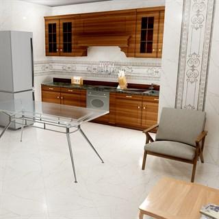 """Проект №3806. Кухня-столоваявстиле неоклассика """"Театро"""""""