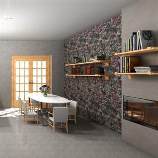 """Проект №5903. Кухня-гостиная встиле неоклассика""""Джангл"""""""