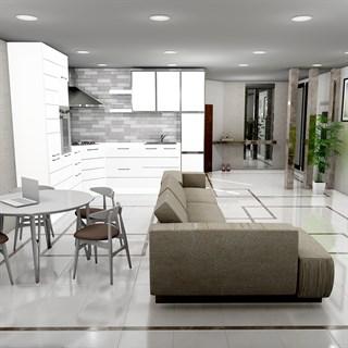 Проект №9010. Квартира-студия всовременномстиле
