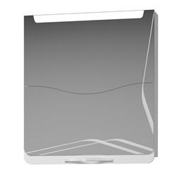 Шкаф-зеркало IVA 65 БЕЛЫЙ - фото 17658