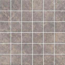 MM5248 Декор Мерджеллина коричневый полотно 30,1х30,1х7 - фото 24010