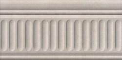 19032/3F Бордюр Александрия светлый структурированный 20х9,9х6,9 - фото 24272
