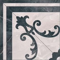 ID102 Выст. Декор Вестминстер 1/4 розона 40,2х40,2х8 - фото 31023
