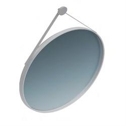 CO.mi.70\WHT Зеркало CONO 70 см, круглое с металличеким креплением к стене, цвет белый - фото 34263