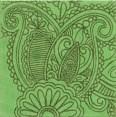 AD/B90/1221T Тантра зеленый 9,9х9,9 - фото 4300