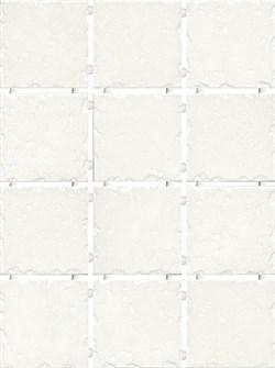 1257 Византия белый 9,9х9,9 - фото 4752