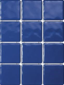 1243 Бриз синий, полотно 30х40 из 12 частей 9,9x9,9 - фото 5591