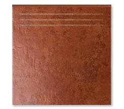 3332/GR ступень Пале Рояль рыжий 30,2x30,2 - фото 5704