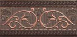Royale List.F Moka / Роял бордюр Ф Мока 9,3X20 - фото 6658