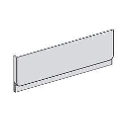 Передняя панель CHROME 160 белая - фото 7715