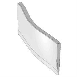 Передняя панель A для ванны MAGNOLIA 170 белая - фото 7762
