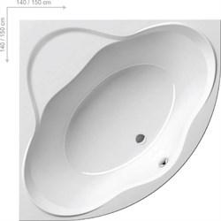 Ванна NEW DAY 140x140 белая - фото 7766