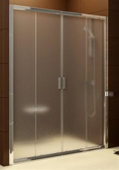 Дверь душевая Ravak BLDP4  - 140 сатин + Грапе - фото 7961