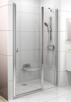 Дверь душевая Ravak CSD2-110  блестящий+стекло Transparent - фото 8081