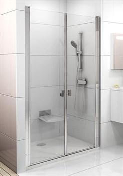 Дверь душевая Ravak CSDL2-110  блестящий+стекло Transparent - фото 8090