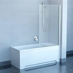шторки для ванн PVS1-80 белая + Транспарент - фото 8221