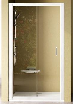 Дверь душевая Ravak NRDP2-120 L белая + Грейп - фото 8239