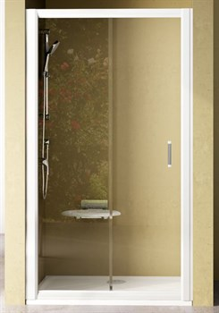Дверь душевая Ravak NRDP2-120 R белая + Грейп - фото 8243