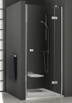 Дверь душевая Ravak SMSD2-110 B-L хром + Транспарент - фото 8331
