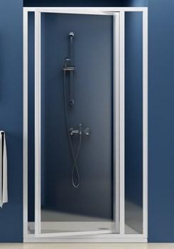 Дверь душевая Ravak SDOP-100 белая+Пеарл - фото 8376