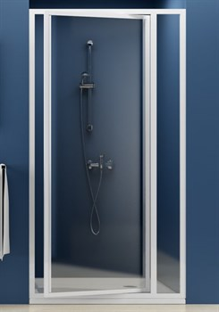 Дверь душевая Ravak SDOP-90 белая+Пеарл - фото 8385