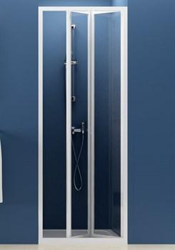 Дверь душевая Ravak SDZ2-70 белая + Грапе - фото 8387