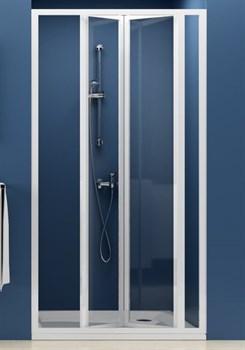 Дверь душевая Ravak SDZ3-90 белая+Транспарент - фото 8398