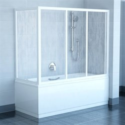 стенки душевые  APSV-75 белая+Раин - фото 8447