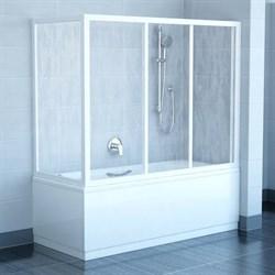 стенки душевые  APSV-80 белая + Транспарент - фото 8452