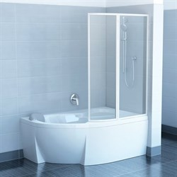 шторки для ванн VSK2 ROSA 160 P Транспарент - фото 8590