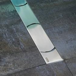 душевые каналы OZ RAVAK Chrome 300 - stainless - фото 8609