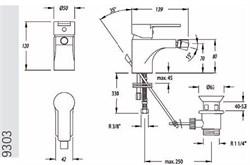 RS-Q смеситель для биде - фото 9184
