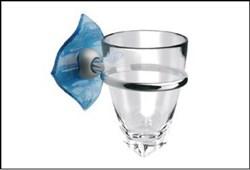 Держатель для зубных щеток и стакан Glass с - фото 9303