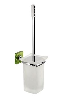 Туалетная щетка Kubik зеленый - фото 9321