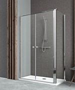 Radaway Двустворчатые распашные душевые двери EOS II DWD 100 арт. 3799492-01