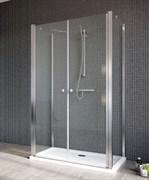 Radaway Двустворчатые распашные душевые двери EOS II DWD+2S дверь 100 арт. 3799402-01