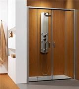Radaway Раздвижные душевые двери Premium Plus DWD арт.33363-01-08N коричневое