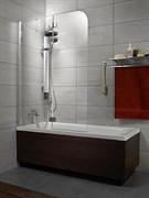 Radaway Шторки для ванны Torrenta PND/L арт. 201202-105NL графит
