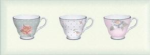 STG/C274/15033 Декор Веджвуд Чашки зеленый грань 15х40х9,5