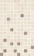 MM6267A Декор Мармион беж мозаичный 25х40х8